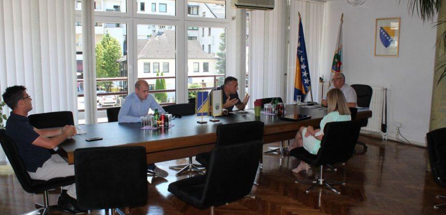 Sastanak predstavnika JU CZSR Travnik i predstavnika CEM Travnik sa načelnikom Općine Travnik
